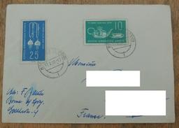 DDR 1959  N° YT 427 428   /  75e Anniversaire Des Verreries D Iena