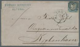 Schleswig-Holstein - Marken Und Briefe: 1864, 1¼ Sch. Farbfrisch Und Allseits Breitrandig Mit Sauber Aufgesetztem
