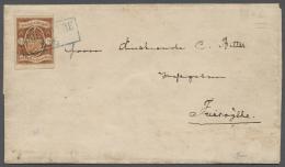 Oldenburg - Marken Und Briefe: 1861, 1/2 Gr. Orangebraun/dunkelbraun, Sehr Breitrandig Und Farbfrisch Als Sehr Seltene E