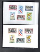 NICARAGUA BLOC 96/97**  SUR LE 20E ANNIVERSAIRE DE L ECOLE MILITAIRE