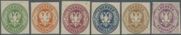 Lübeck - Marken Und Briefe: 1872, 1/2 S. - 4 S. Wappen Von Lübeck Im Oval Als Ungebrauchter Neudrucksatz. Dazu