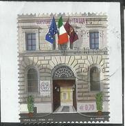 ITALIA REPUBBLICA ITALY REPUBLIC 2013 QUESTURE D´ITALIA ROMA  €  0,70 USATO USED OBLITERE´ - 6. 1946-.. Repubblica