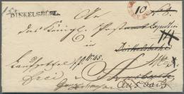 Bayern - Vorphilatelie: 1835, Laufzettel (Nachforschungsantrag) Der Fahrpost, Innen Vorgedruckt, Aus Gunzenhausen Vom 16 - Germany