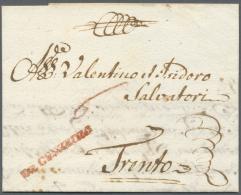 Bayern - Vorphilatelie: 1779,  DE GUNZBURG, Roter L1, Auf Komplettem, Aktenfrischen Brief Mit Handschriftlicher Taxr&oum - Germany
