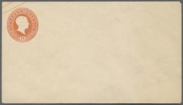 Baden - Ganzsachen: 1858, 12 Kr. 18 Kr. Ganzsachenumschlag Je Im Format A, Zwei Ungebrauchte Neudrucke, Beim 12 Kr. Umsc - Baden
