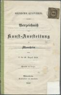 Baden - Marken Und Briefe: 1852, 1 Kr. Schwarz Auf Braun, Farbtiefes Exemplar, Rechts Angeschnitten, Sonst überrand - Baden