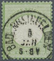 """Baden - Ortsstempel: """"BAD RHEINFELDEN"""" - Auf Brustschild 1 Kreuzer. FB Sommer BPP (2002): """"Der Alte Badenstempel Ist Auf - Baden"""