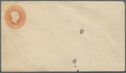 Baden - Ganzsachen: 1858, 18 Kr. Ganzsachenumschlag Im Format A, Zwei Ungebrauchte Neudrucke Mit Verschiedenen Wertstemp - Baden