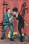 MUSICIEN--GEORGES JOUVIN--disque PATHE MARCONI---Dédicace---voir 2 Scans - Singers & Musicians
