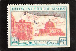 PALESTINE - Palestine For The Arabs