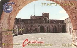 *ST. KITTS & NEVIS - 3CSKC* -  Scheda Usata - St. Kitts & Nevis