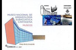 Spanje / Spain - Postfris / MNH - FDC's Complete Set Museums 2017