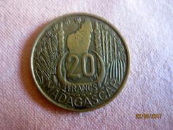 Madagascar: 20 Francs 1953 - Madagascar