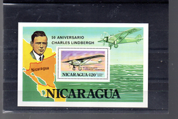NICARAGUA BLOC 135**  SUR LINDBERGH