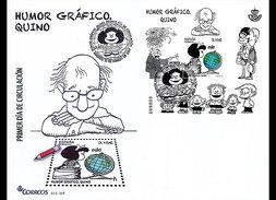 Spanje / Spain - Postfris / MNH - FDC Grafische Humor 2017