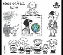 Spanje / Spain - Postfris / MNH - Sheet Grafische Humor 2017