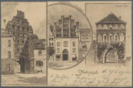 Ansichtskarten: Mecklenburg-Vorpommern: NEUBRANDENBURG, NEUSTRELITZ, TEMPLIN, LYCHEN, GREIFSWALD, WOLGAST, USEDOM Und ST - Germany