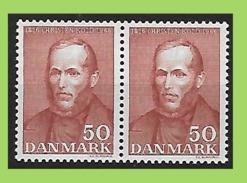Denmark, 1966 2x Mi 441 ** MNH Postfrisch
