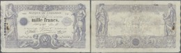 Tunisia / Tunisien: 1000 Francs March 6th 1923, P.7b, Very Early Issue Of This Type In Exceptional Good Condition  For T - Tunisia