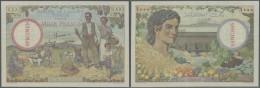 Tunisia / Tunisien: 1000 Francs ND(1946) Specimen P. 26s, With Zero Serial Numbers And Specimen Overprint Across Waterma - Tunisia