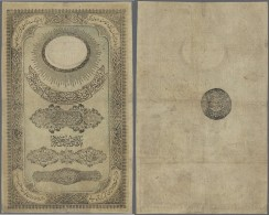 Turkey / Türkei: 20 Kurush 1856 P. 26, No Strong Folds But Obviously Pressed, Repaired At Every Border In Center, N - Turkey