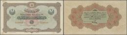 Turkey / Türkei: 1 Livre 1916 P. 83, Center Fold, Handling In Paper, Light Stains At Lower Border And Upper Left Co - Turkey