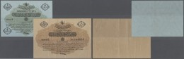 Turkey / Türkei: Set Of 2 Notes Containing 5 Piastres 1917 P. 96 (XF-) And 20 Piastres 1917 P. 97 (F+ To VF-), Nice - Turkey