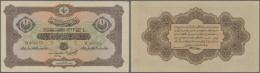 Turkey / Türkei: 1 Livre 1917 P. 99, Center Fold, Light Handling, No Other Folds, No Holes Or Tears, Condition: VF+ - Turkey