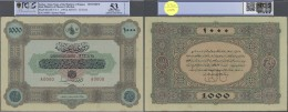 Turkey / Türkei: Highly Rare Specimen Note 1000 Livres ND(1914) AH1333 P. 107s (attention: The Grading Company Made - Turkey