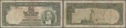 Turkey / Türkei: 2 1/2 Lira ND(1939) P. 126, Vertical And Horizontal Folds, Staining In Paper, No Holes Or Tears, P - Turkey