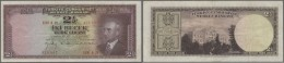 Turkey / Türkei: 2 1/2 Lira ND(1947) P. 140, Only Light Folds In Paper, No Holes Or Tears, Original Colors, Still P - Turkey