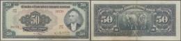 Turkey / Türkei: 50 Lira ND(1947) P. 143a, Slight Folds In Paper, No Holes Or Tears, Very Light Staining But Strong - Turkey