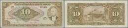 Turkey / Türkei: 10 Lira ND(1948) P. 148a, Light Vertical Folds And Handling In Paper, No Holes Or Tears, Original - Turkey