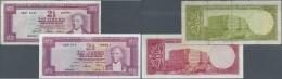 Turkey / Türkei: Set Of 2 Notes Containing 2 1/2 Lira ND(1960) P. 153a (F) And 2 1/2 Lira ND(1957) P. 152a, Pressed - Turkey