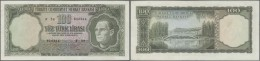 Turkey / Türkei: 100 Lira ND(1969) P. 182, Only Light Folds And Handling In Paper, Very Crisp Original Paper, No Ho - Turkey