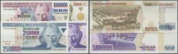 Turkey / Türkei: Set Of 4 Specimen Banknotes Containing 250.000, 500.000, 1.000.000 And 5.000.000 Lira ND(1984-2002 - Turkey