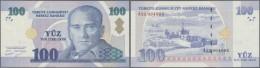 Turkey / Türkei: 100 Lira 2005 P. 221, In Condition: UNC. - Turkey