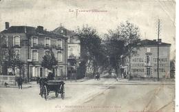 TARN ET GARONNE - 82 - MONTAUBAN - Avenue De La Gare - Pliures - Montauban