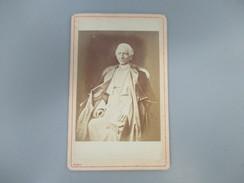CDV HOMME D'EGLISE PAPE PRETRE ROMA - Cartes De Visite