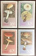Ciskei 1988 Poisonous Fungi MNH - Funghi