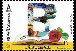 Spanje / Spain - Postfris / MNH - 12 Maanden, 12 Postzegels Barcelona 2017