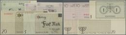 Deutschland - Konzentrations- Und Kriegsgefangenenlager: Ghetto Litzmannstadt Set With 5 Banknotes 2 X 50 Pfennig, 1, 5 - Germany