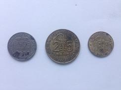 Trois Pièces De La BANQUE CENTRALE DES ETATS DE L'AFRIQUE DE L'OUEST.  Années 70. - Monnaies