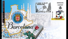 Spanje / Spain - Postfris / MNH - FDC 12 Maanden, 12 Postzegels Barcelona 2017