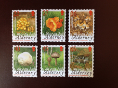 Alderney 2004 Mushrooms Fungi MNH