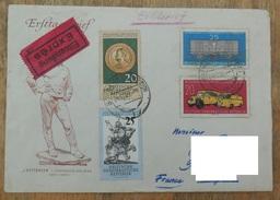 DDR 1960 N ° YT 504 505 506 507 / Journée Du Timbre - 4eme Centenaire Collections Musée De Dresde / Eilseldung Exprès