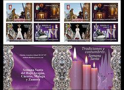 Spanje / Spain - Postfris / MNH - Booklet Semana Santa 2017