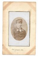 Photo Albuminée Prise En 1881 - PORTRAIT D'UN MARIN Né En 1836  à Brest - Fotos