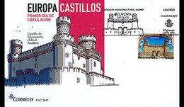 Spanje / Spain - Postfris / MNH - FDC Europa, Kastelen 2017
