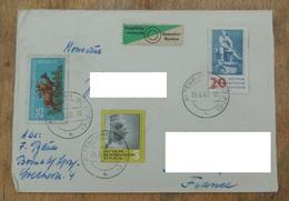 DDR 1961 N°YT 456 458 493 / Chevreuils Déesse Potier / Vignettes Sorgfältig Stempeln Sammler Marken + Tauschsendung